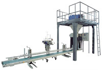 Dosing and bag-filling weighing machines